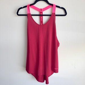 Nike DRI-FIT Pink Tank Top